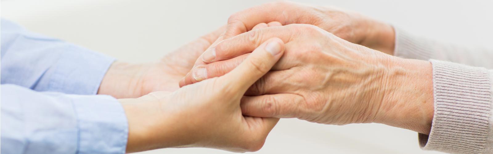 Slider Image of holding hands